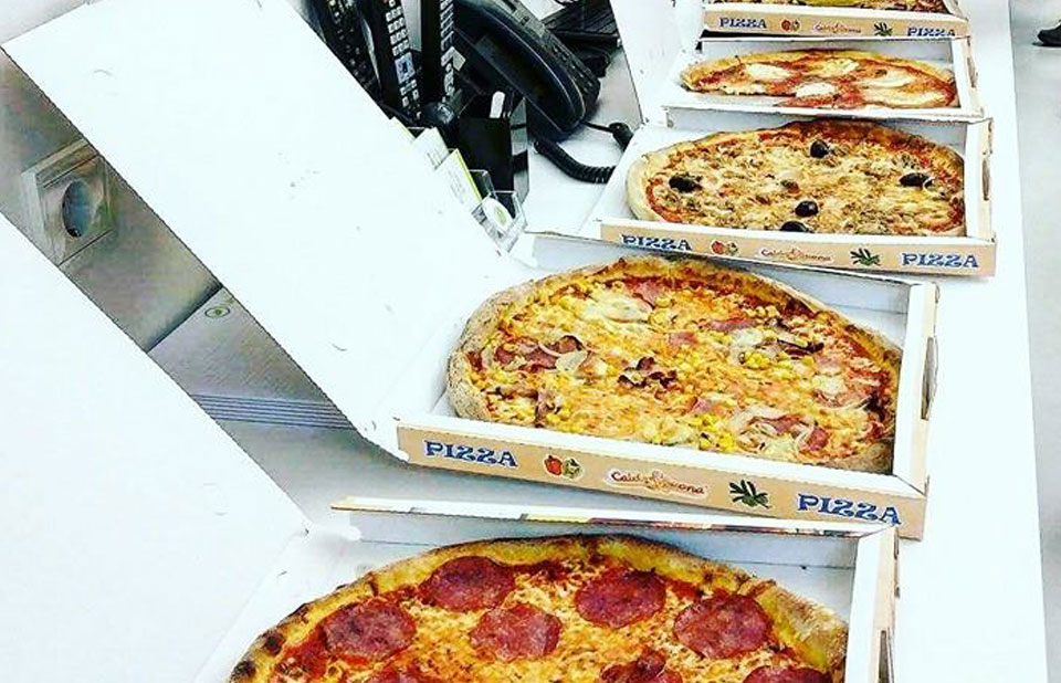 pizzafuttern